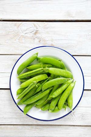 sweet sugar snap: pea pods