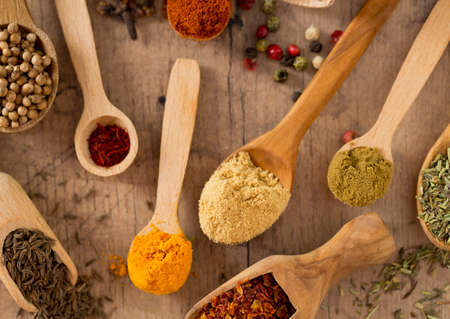 safran: colorful spices