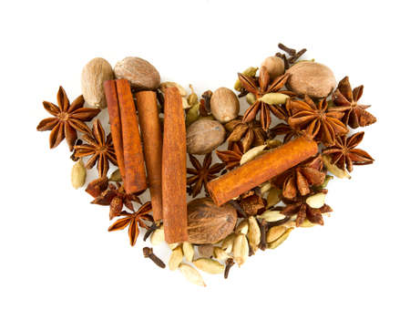 wintery: wintery spices Stock Photo
