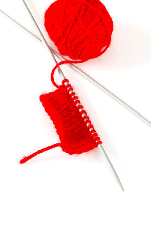 hilo rojo: red thread and knitting