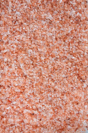 himalayan salt close up Stock Photo