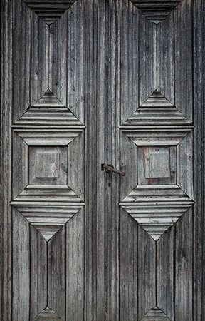 old rustic door Imagens