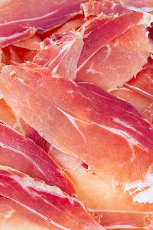 spanish jamon serrano Standard-Bild - 124532278