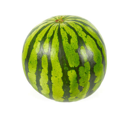 water melon isolated on white 版權商用圖片 - 131486670