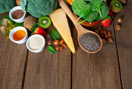 Konzept für gesunde Ernährung Standard-Bild