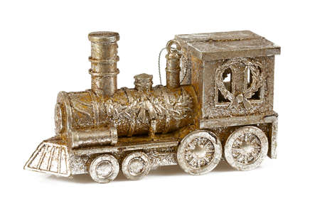 Christmas decoration - golden train