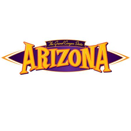 grand canyon: Arizona The Grand Canyon State Illustration