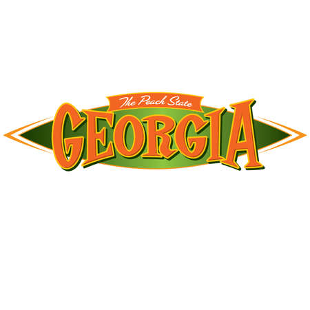 social history: Georgia The Peach State Illustration