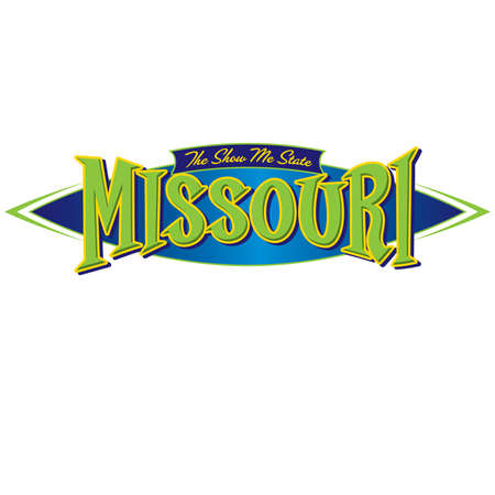 Missouri The Show Me State Ilustrace