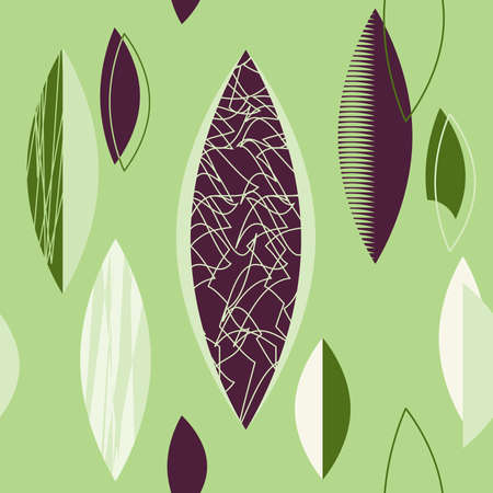 Green retro Atomic 1950s Mid Century Vintage Background.