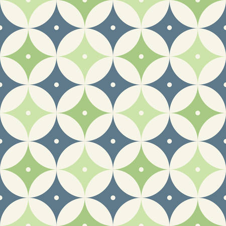 Retro Atomic 1950s Mid Century Vintage Background