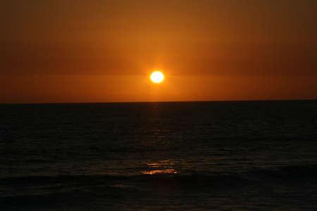 Sunset and Black Water 版權商用圖片