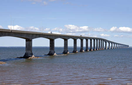 Confederation Bridge - Canada Stockfoto