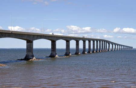 Confederation Bridge - Canada Reklamní fotografie
