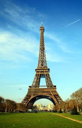 Eiffel Tower - Paris Stock Photo