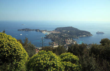 View of Saint Jean Cap Ferrat on French Riviera