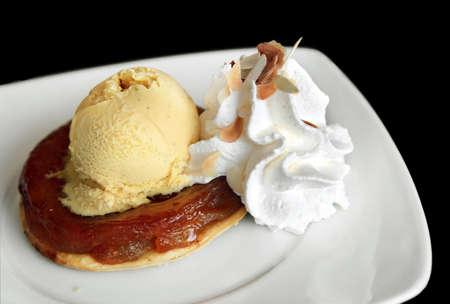 Apple Tart & Vanilla Ice Cream  photo