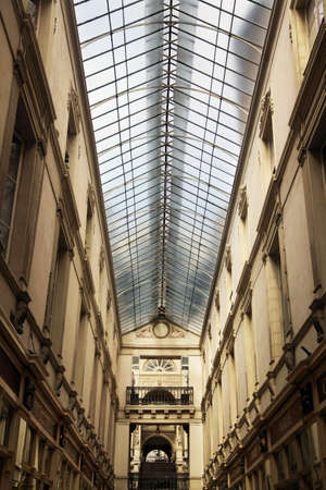 19th Century Architecture: Passage Pommeraye, Nantes, France