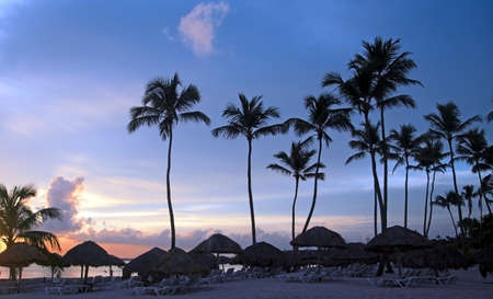Dominicaanse Sunrise, strand in Punta Cana