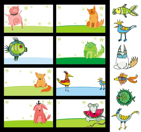 Animals cards.