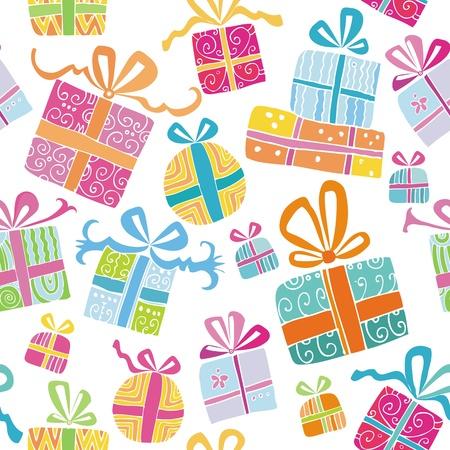 Cajas de regalos colorido.