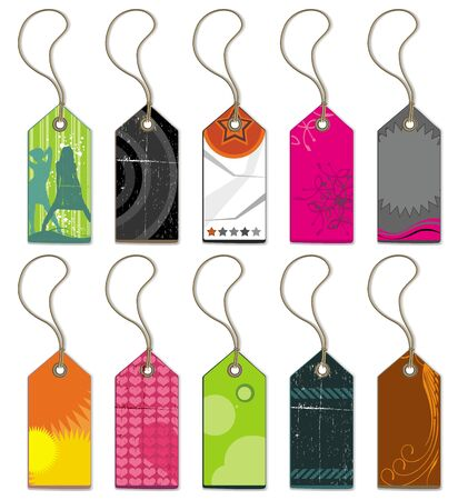 Collection of tags and stickers  Stock Vector - 9627241