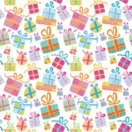 Colorful vector gift boxes 2. Vector