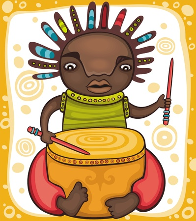 Ethnic, boy 2 Vector