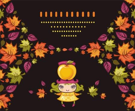 autumnal: Autumnal girl.
