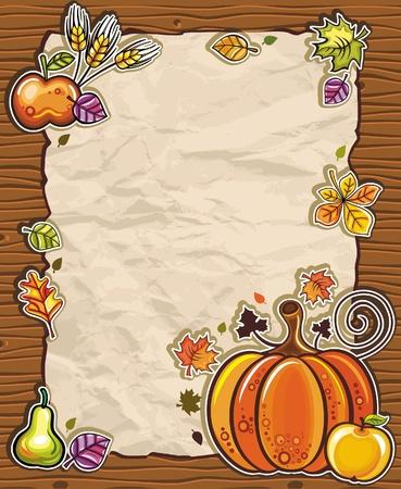 thanksgiving day symbol: Arrangiamenti di carta Thanksgiving 3