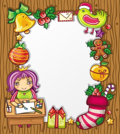 gingerbread person: letter to Santa 4