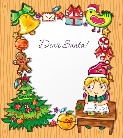 letter to Santa Series 4 Vector