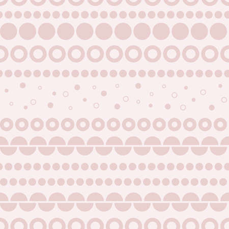 Dusty Pink Dotted geometric seamless vector pattern