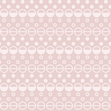 Light Pink Dotted Graphic seamless vector pattern Illustration
