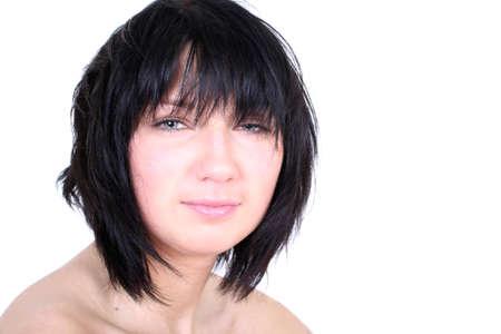 shaggy: sexy girl with shaggy hair