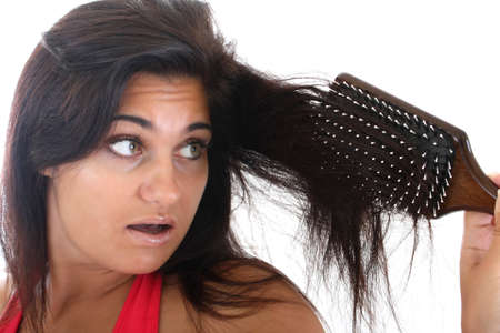 young woman with problem hair Stock Photo - 7667139