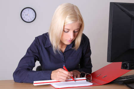 young attractive architect at work Stock Photo - 14526478
