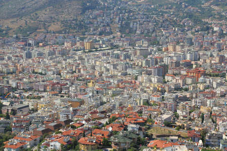 old town in Alanya, Turkey photo
