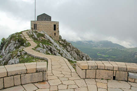 petrovich: platform on the Lovcen mountain in Montenegro