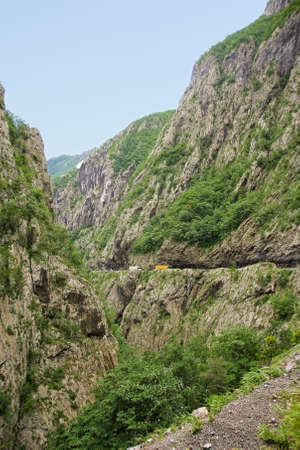 hill of tara: view of Tara river canyon in Montenegro