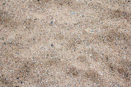 summer background - close up of sand on the beach Stock Photo