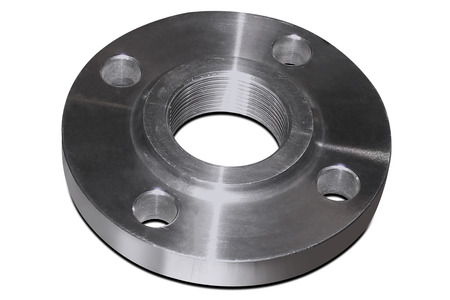 Stainless flange Banque d'images
