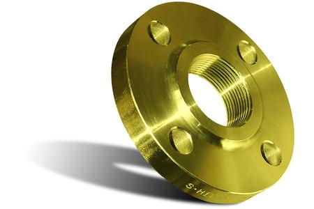 Yellow welding flange