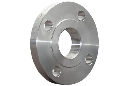 Stainless flange Stock Photo