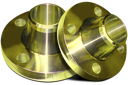 Flanges with yellow collar