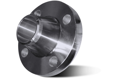 Flange with collar Stock Photo