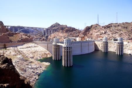 electric power station: Hoover Dam, Arizona-Nevada, USA