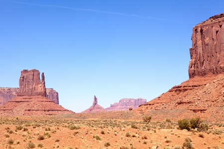 John Fords Point at the Monument Valley, Arizona-Utah, USA photo
