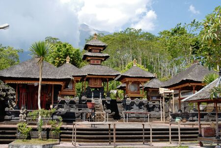 hindu temple: One of small temples at Besakih complex. Bali, Indonesia