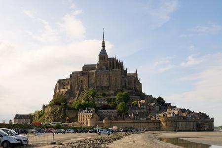 michel: Le Mont Saint Michel (France) Stock Photo